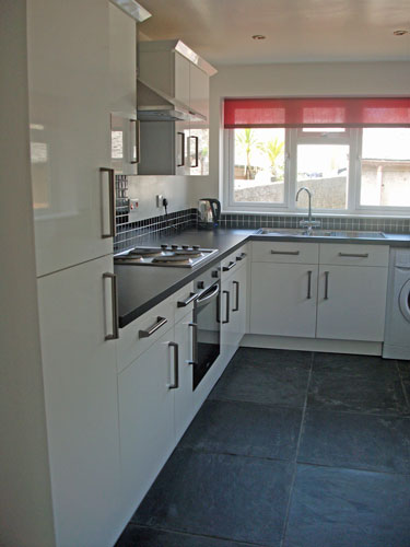 Kitchen, Camomile Cottage, Self-Catering, St Just