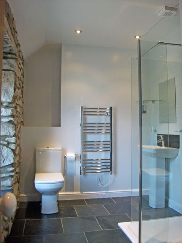 Shower Room, Camomile Cottage, Self-Catering, St Just